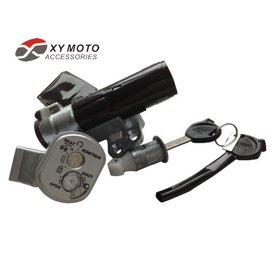 KEY & Screw SET IGNITION SWITCH MOPED SCOOTER FOR Honda Spacy110 SCR110